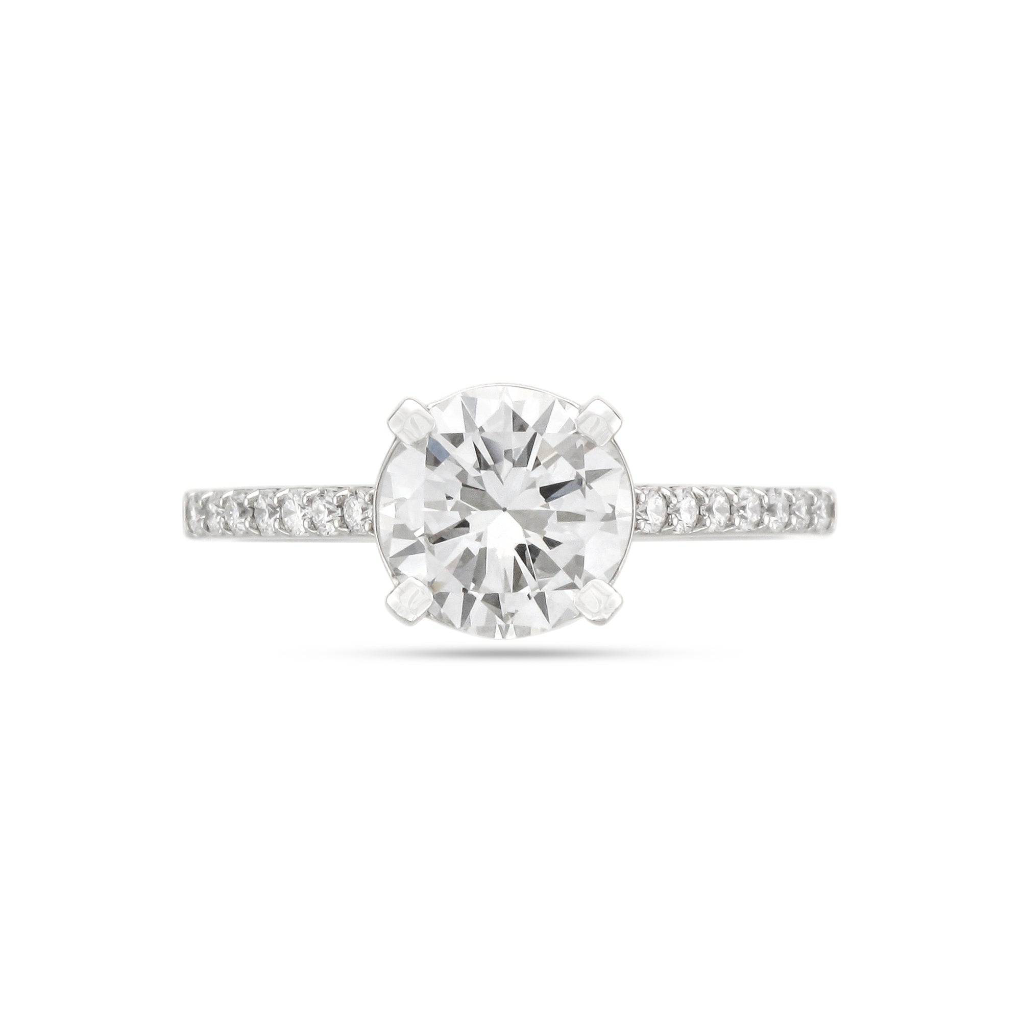 1.54ct Brilliant-Cut Diamond Engagement Ring