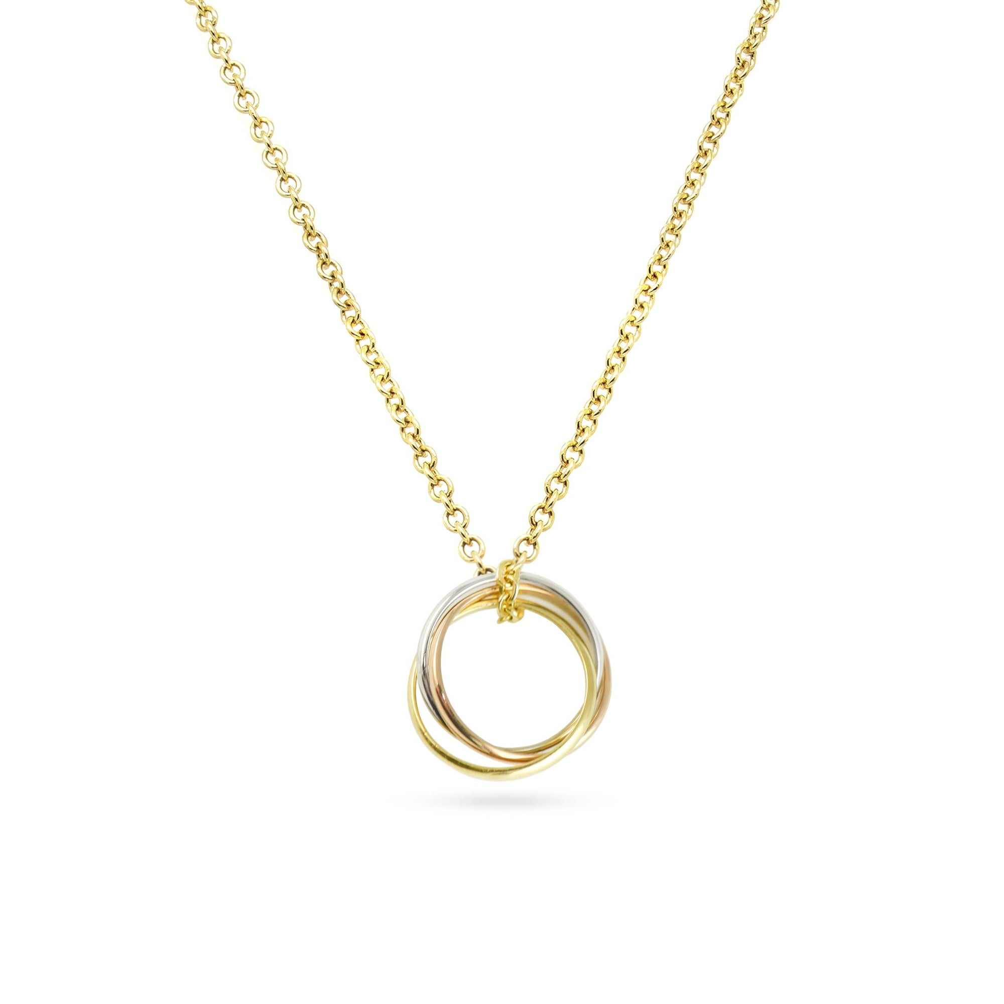 18ct Cartier Trinity Necklace