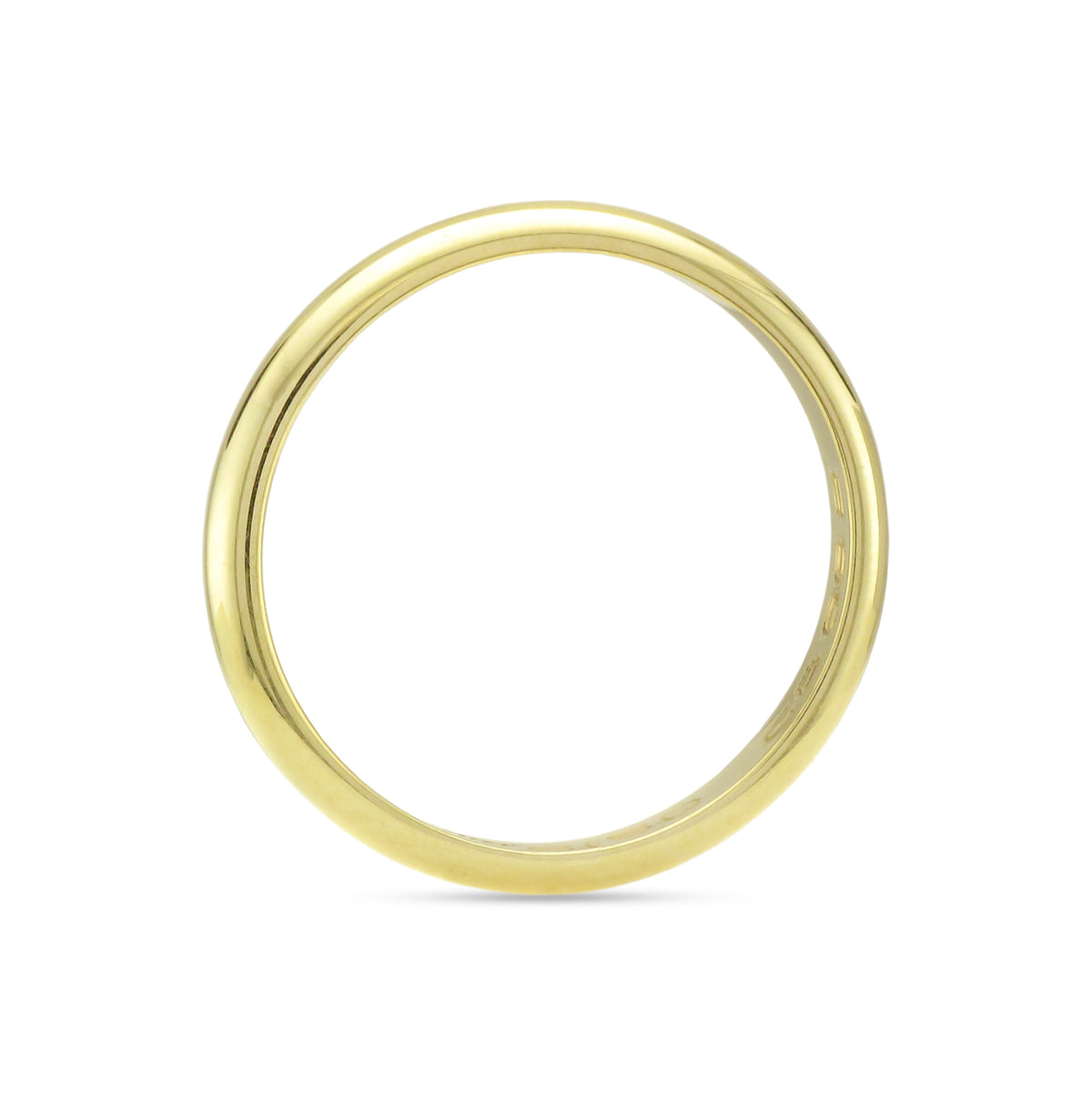 18ct Yellow Gold Cartier Wedding Ring