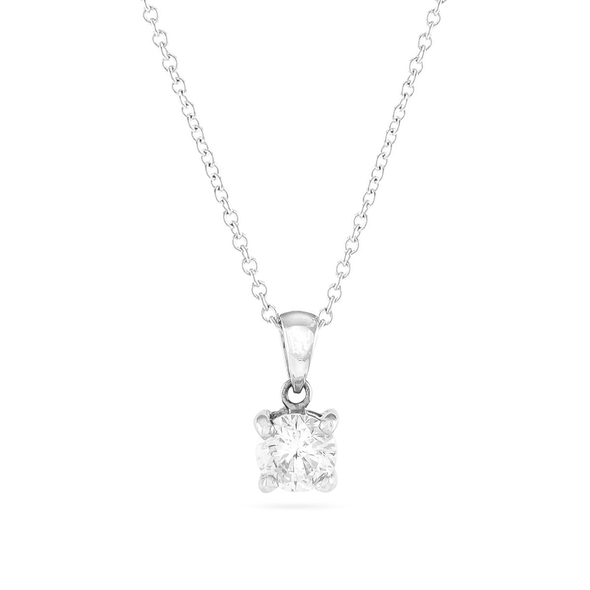 0.68ct Brilliant-Cut Diamond Pendant