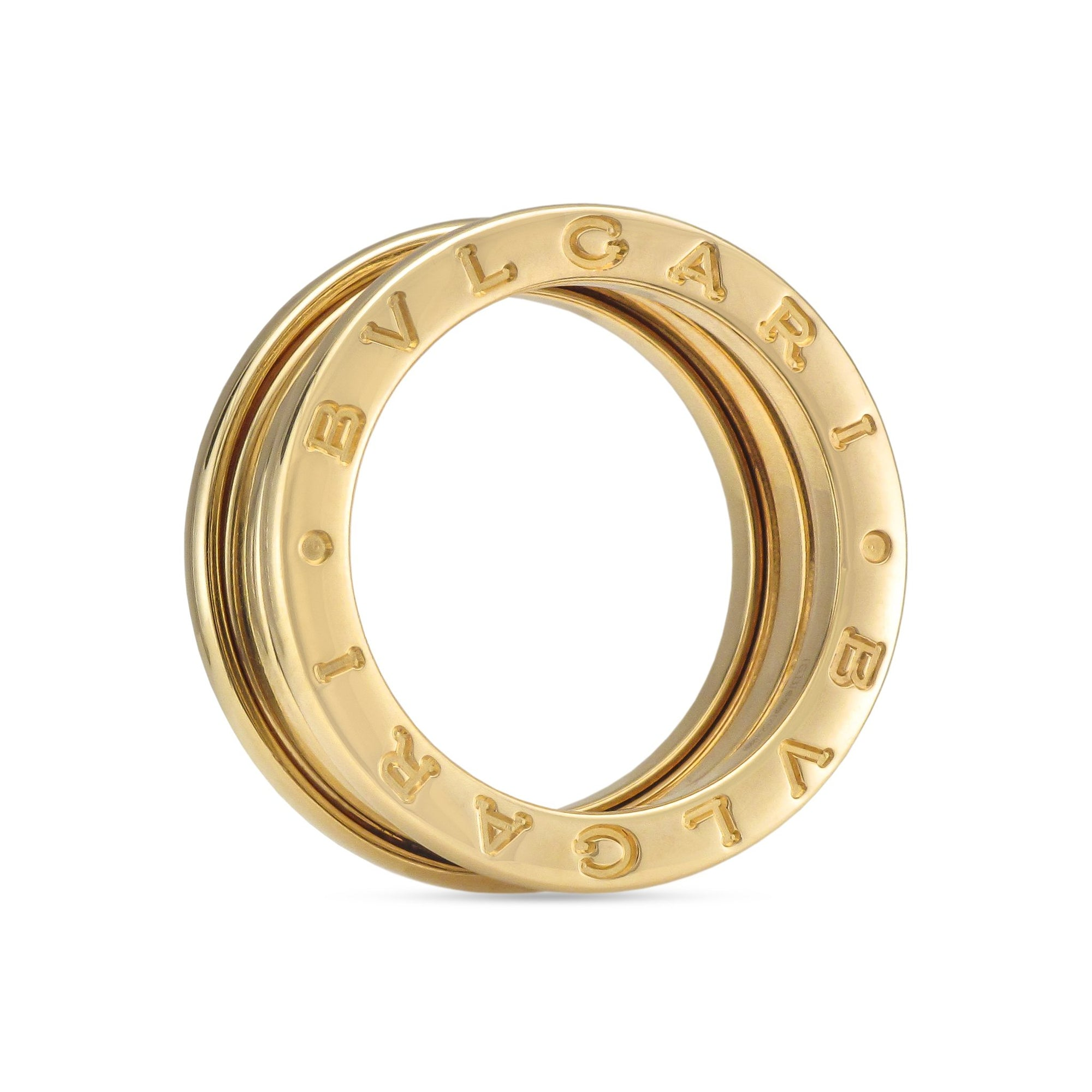 Bvlgari B.Zero1 18ct Yellow Gold Ring