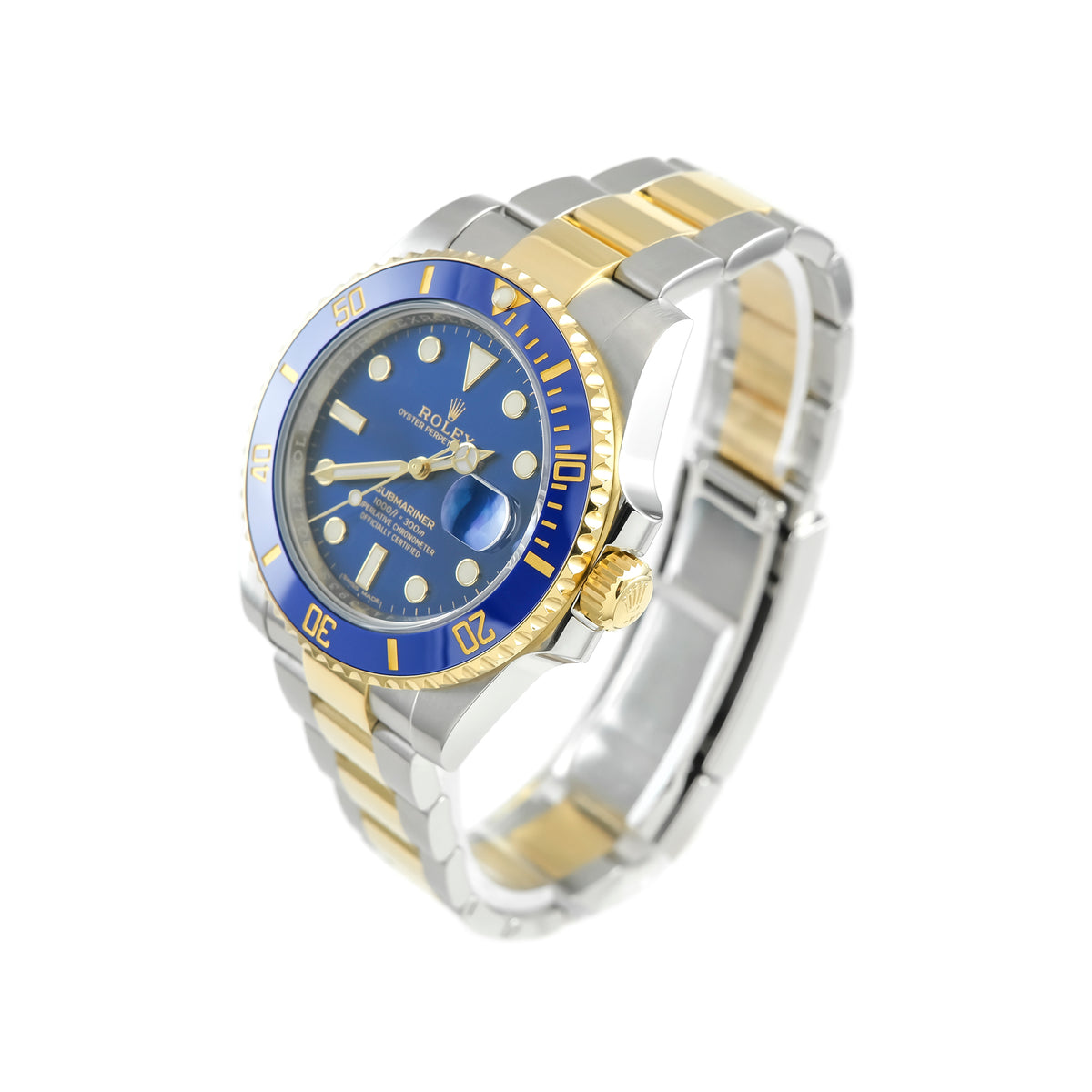 Bi Metal Rolex Submariner 116613LB