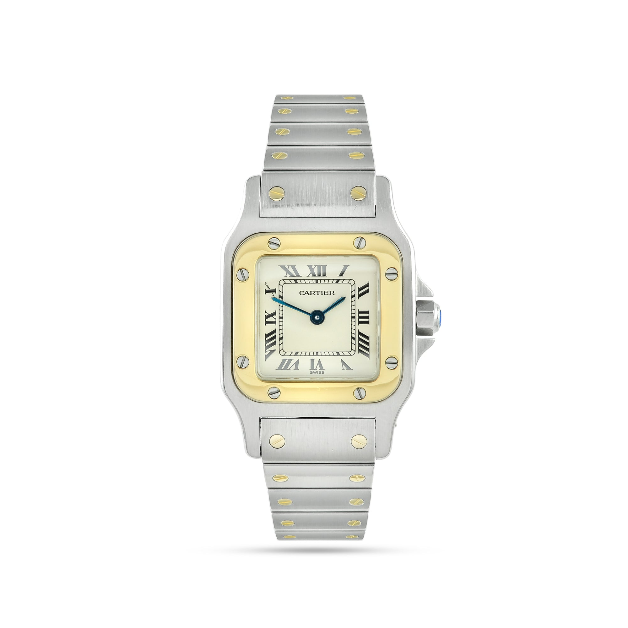 Ladies Cartier Santos Galbee W20012C4/1567