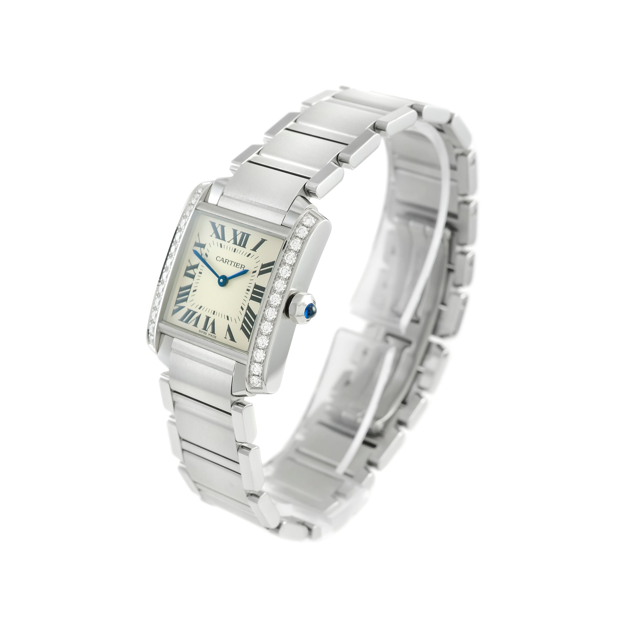 Ladies Cartier Tank Francaise 25mm W4TA0009
