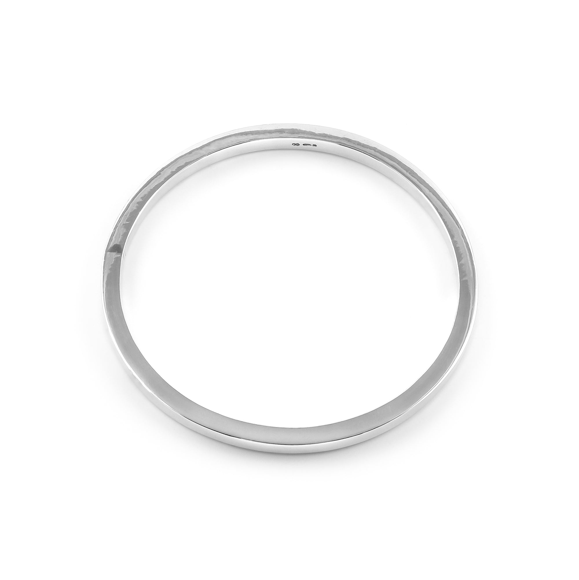 Sterling Silver Handmade Solid Bangle