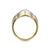18ct Yellow Gold Diamond Marquise Shaped Ring