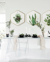 Load image into Gallery viewer, Creative Hexagon Green Plant Series 2/2