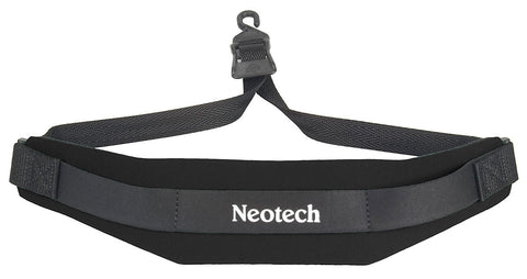 Neotech Soft Sax Strap. Black. Regular. Loop End
