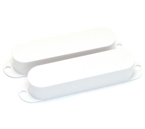 Fender Pickup Covers, '65 Mustang, White (2)