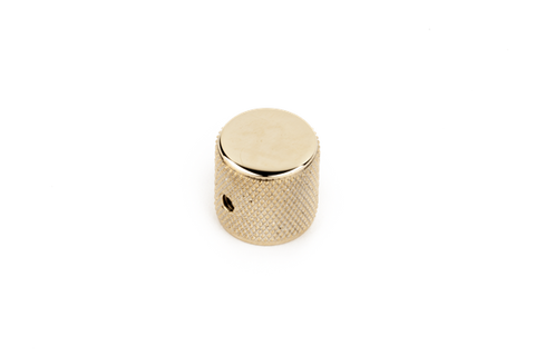 Fender Telecaster/Precision Bass Knobs, Knurled Gold (each)