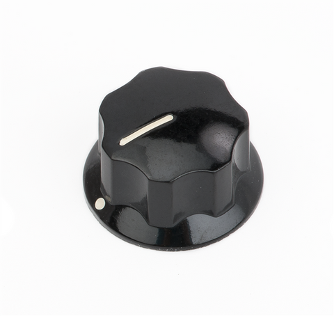 Fender Deluxe Jazz Bass Upper Concentric Knob, Black