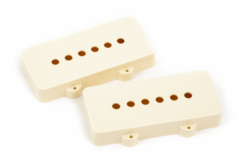 Fender Pickup Covers, Jazzmaster Aged White (2)