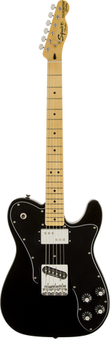 Squier Vintage Modified Telecaster Custom, Maple Fingerboard, Black