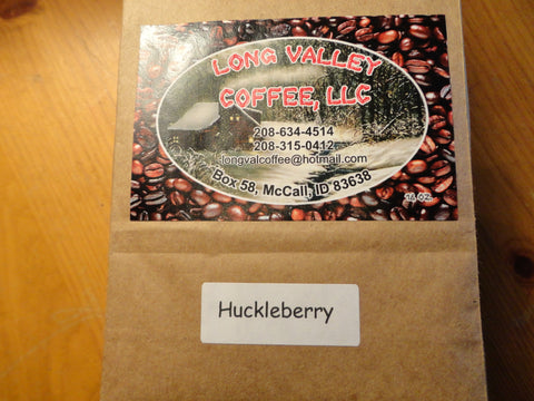 Huckleberry Flavored Coffee