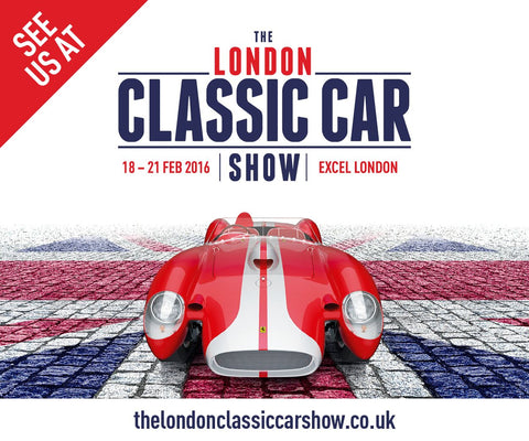 Come visit us at the London Cassic Car Show