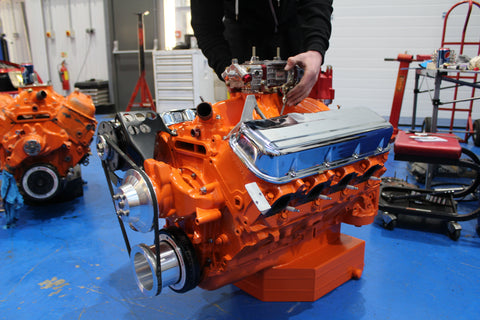 Full engine re-build on corvette