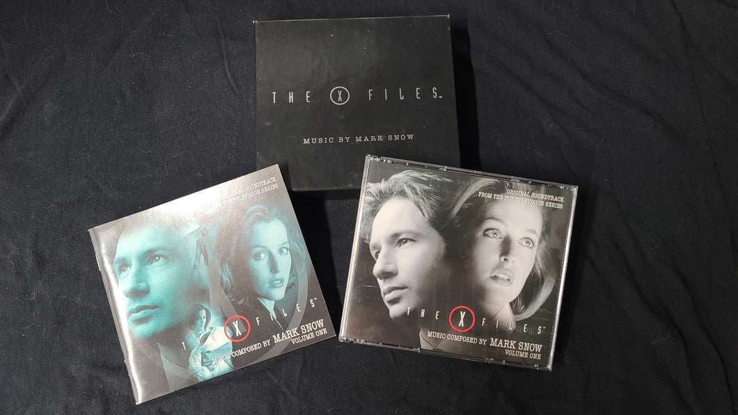 The X-Files Volumne 1 Soundtrack with Slipcase