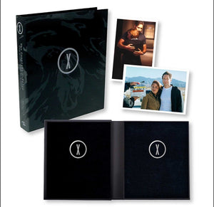 "Limited Edition ""The Complete X-Files :Black Oil"" Book"