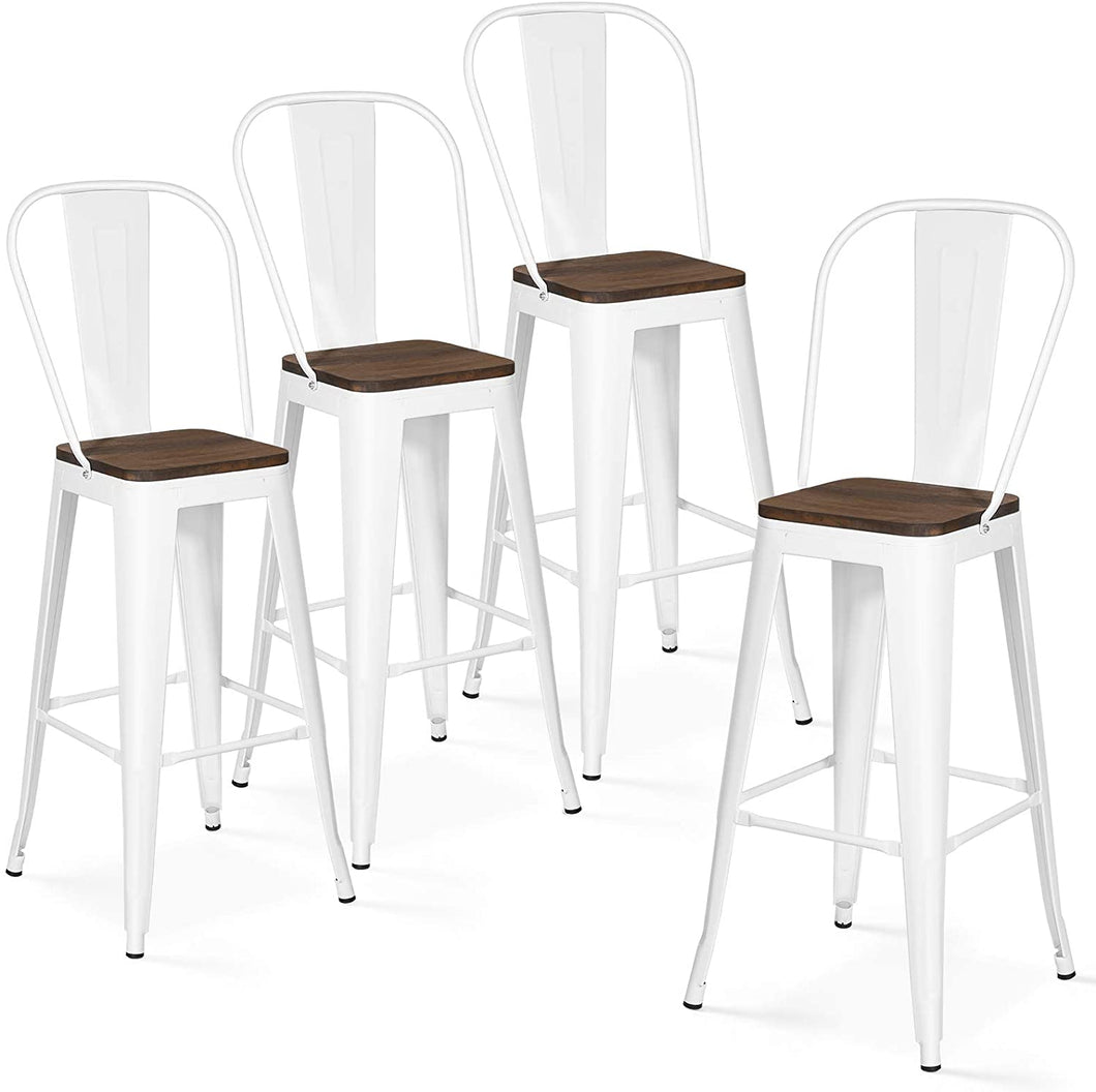BAR STOOLS with backs 30