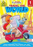 Travel the World Adventure Tablet Workbooks Ages 6