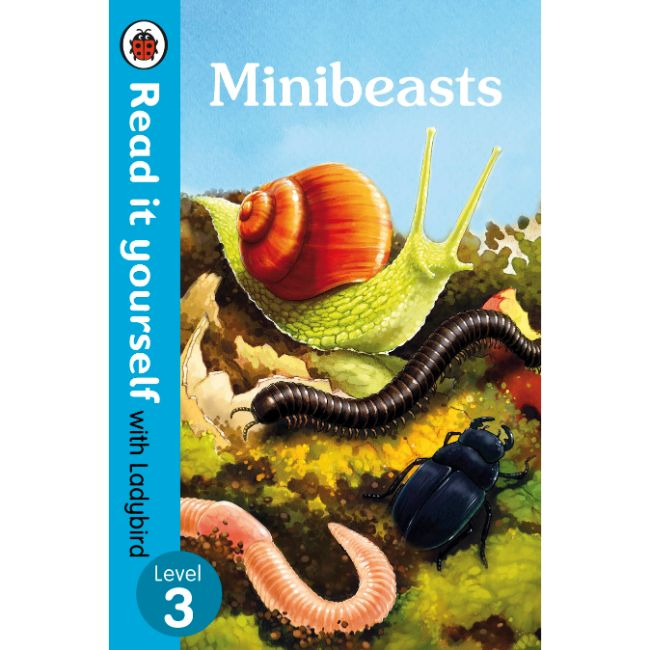 Read It Yourself Level 3, Minibeasts