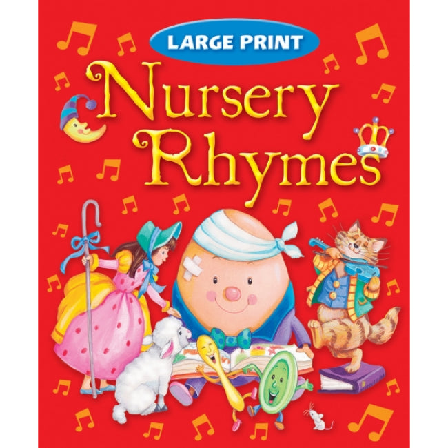 Large Print Nursery Rhymes