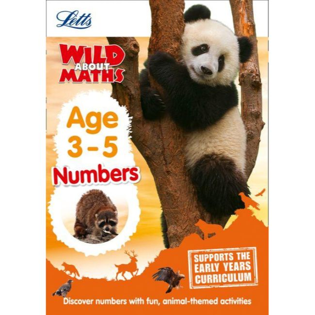 Letts: Wild About Maths, Numbers Age 3-5, BY Letts Preschool