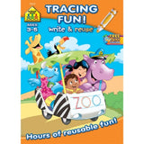 Tracing Fun! Write & Reuse Workbook Ages 3-5