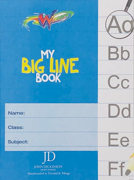 Winners, Exercise Book, My Big Line, 56pgs