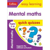 Collins Easy Learning Quick Quizzes, Mental Maths Ages 7-9, BY Collins UK