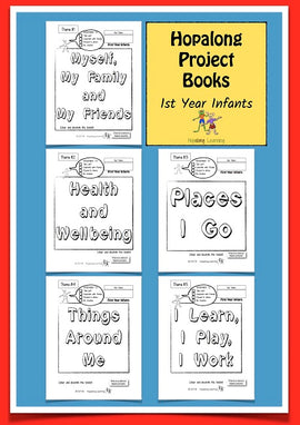 Hopalong Project Books, 1st Year Infants Pack BY L. Powell Cadette