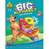 School Zone Big Alphabet P-K Workbook Ages 3-5