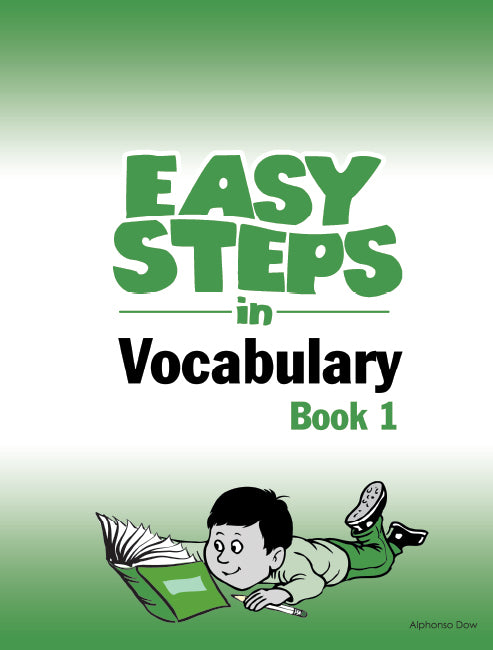 Easy Steps In Vocabulary Book 1 BY Alphonso Dow