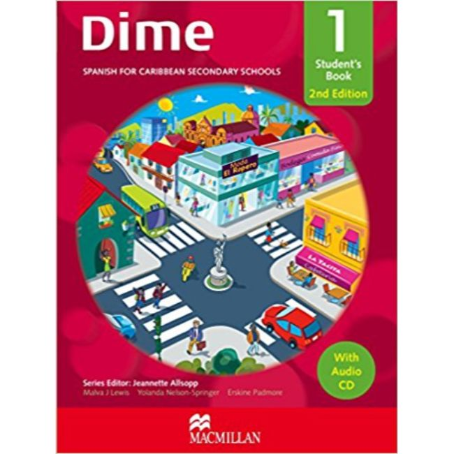 Dime Student's Book 1, 2nd Edition, with Audio CD BY M. Lewis, Y. Nelson-Springer, E. Padmore, J. Allsopp