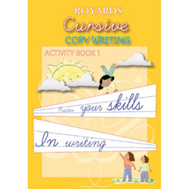 Cursive Copywriting, Activity Book 1, BY Royards