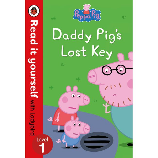 Read It Yourself Level 1, Peppa Pig: Daddy Pig's Lost Keys