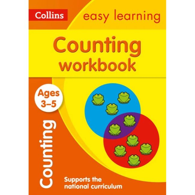 Collins Easy Learning Activity Book, Counting Workbook Ages 3-5, BY Collins UK