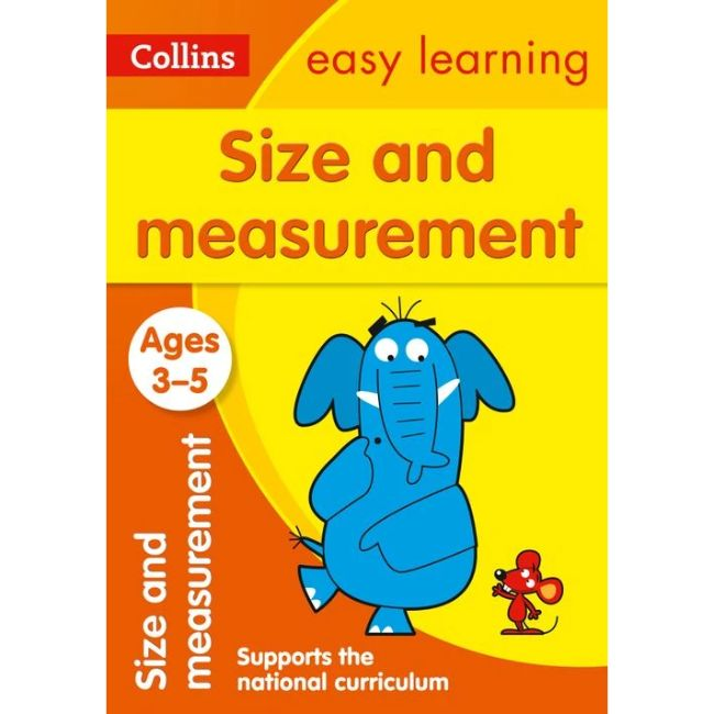 Collins Easy Learning Activity Book, Size and Measurement Ages 3-5, BY Collins UK