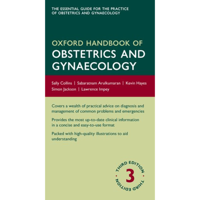 Oxford Handbook of Obstetrics and Gynaecology, 3ed BY Collins