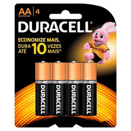 Duracell, Battery, AA, 4count