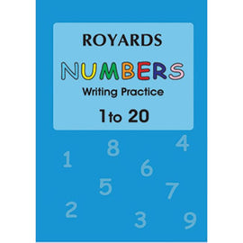 Numbers Writing 1-20, BY Royards