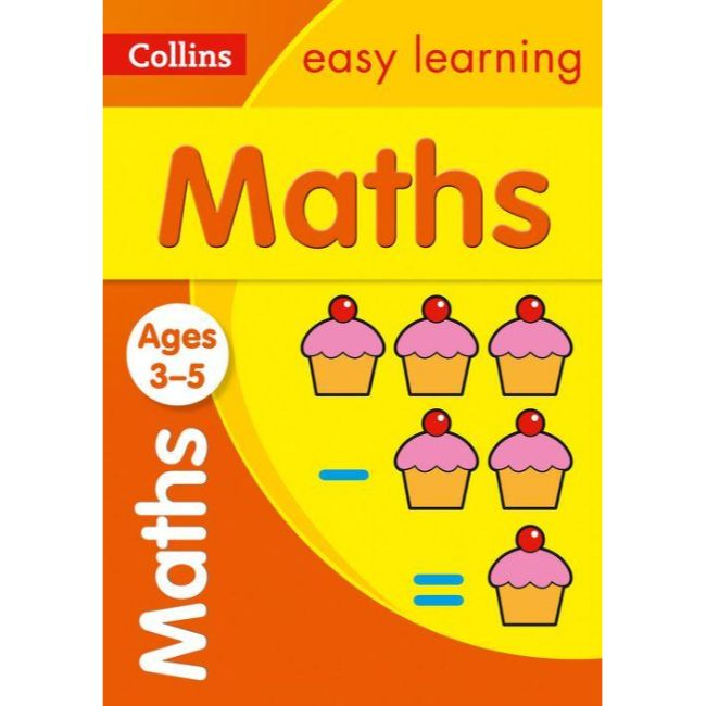 Collins Easy Learning Activity Book, Maths Ages 4-5, BY Collins UK
