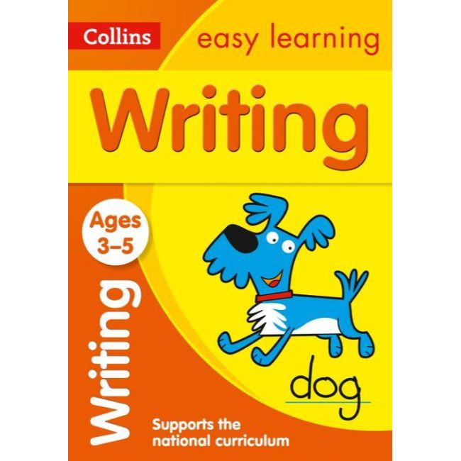Collins Easy Learning Activity Book, Writing Ages 3-5, BY Collins UK