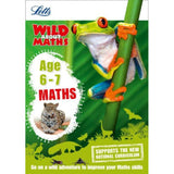 Letts: Wild About Maths, Age 6-7, BY Letts KS1