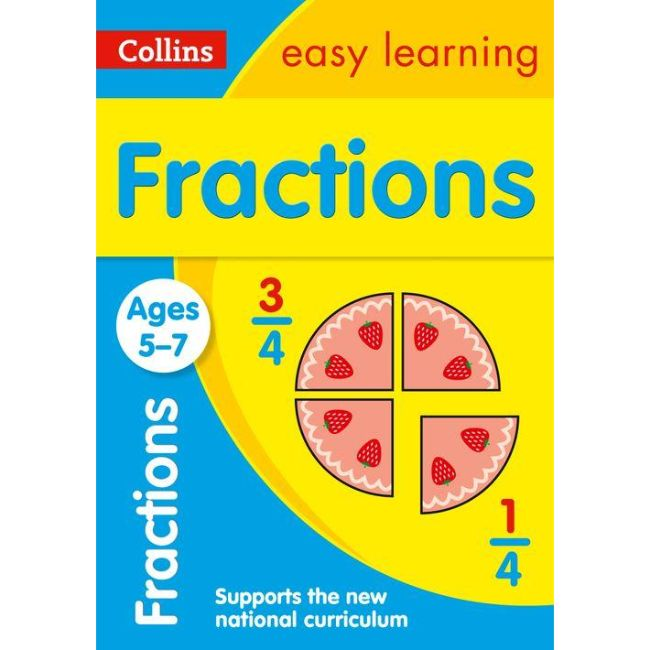 Collins Easy Learning Activity Book, Fractions Ages 5-7, BY Collins UK