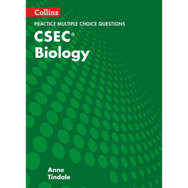 Collins CSEC® Biology, MCQ Practice BY A. Tindale