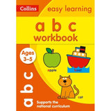 Collins Easy Learning Activity Book, ABC Workbook Ages 3-5, BY Collins UK