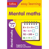 Collins Easy Learning Activity Book, Mental Maths Ages 7-9, BY Collins UK