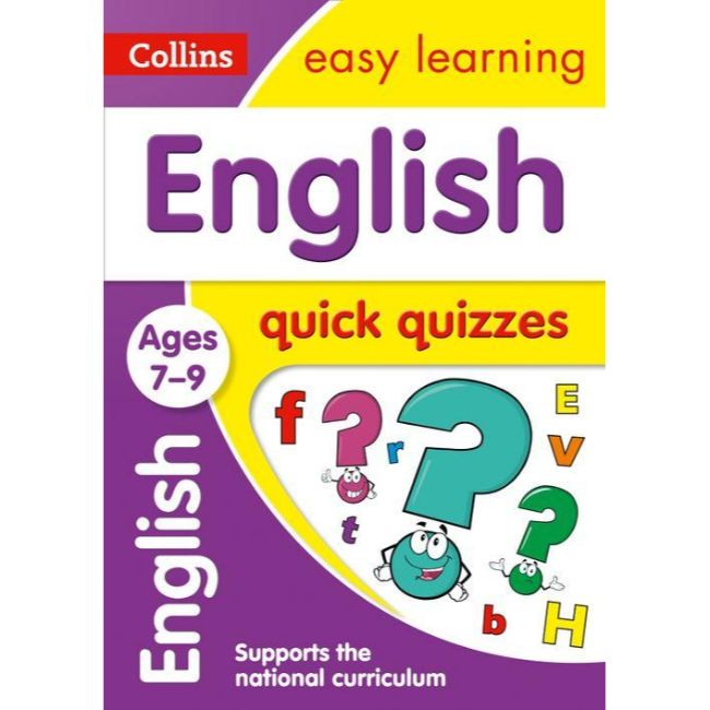 Collins Easy Learning Quick Quizzes, English Ages 7-9, BY Collins UK