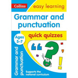Collins Easy Learning Quick Quizzes, Grammar & Punctuation Ages 5-7, BY Collins UK